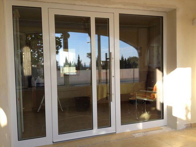 Related pictures vendo puertas ventanas aluminio compra - Puerta entrada vivienda ...