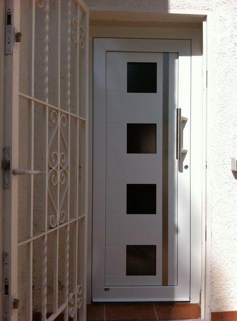 Puertas de entrada a vivienda de aluminio - Puertas para viviendas ...