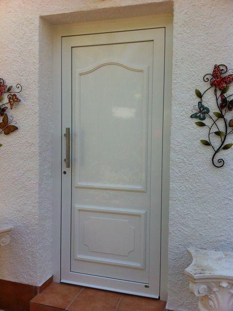 Puertas de entrada a vivienda de aluminio - Puerta entrada vivienda ...