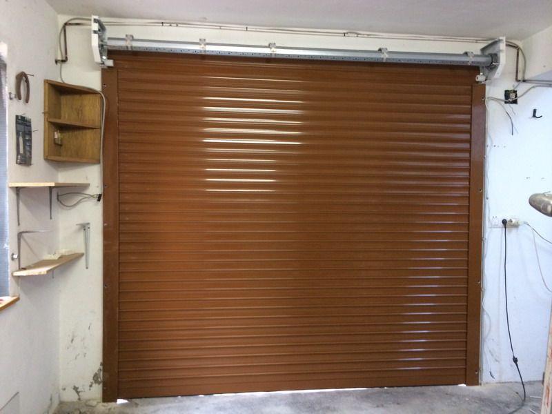 Persiana De Aluminio Como Puerta De Garaje Motorizada En Orba